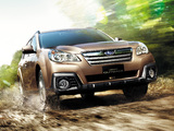 Subaru Legacy Outback 2.5i (BR) 2012 images