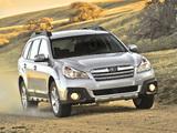Subaru Outback 2.5i US-spec (BR) 2012 photos
