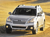 Subaru Outback 2.5i US-spec (BR) 2012 pictures