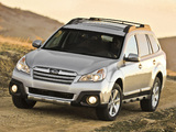 Subaru Outback 2.5i US-spec (BR) 2012 wallpapers