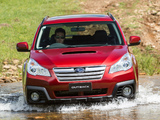 Subaru Outback 2.0D AU-spec (BR) 2012 wallpapers