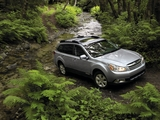 Subaru Outback 2.5i US-spec (BR) 2009–12 wallpapers