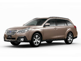 Subaru Legacy Outback 2.5i (BR) 2012 wallpapers