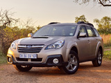 Subaru Outback 2.0D ZA-spec (BR) 2013 wallpapers