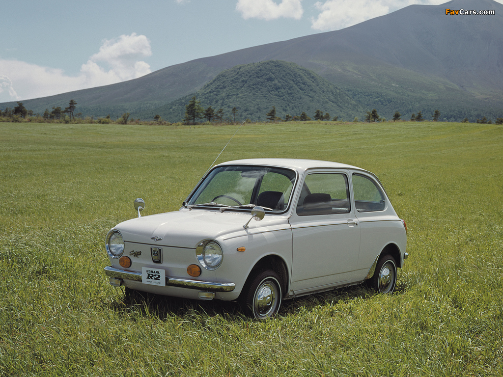 Photos of Subaru R2 1969–72 (1024 x 768)