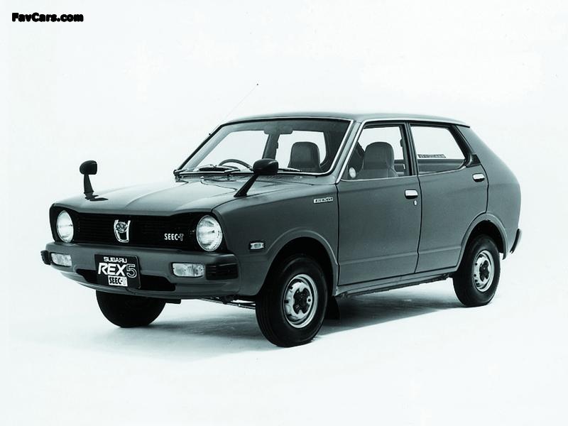 Subaru Rex 5 Seec T K23 1976 77 Wallpapers 800x600