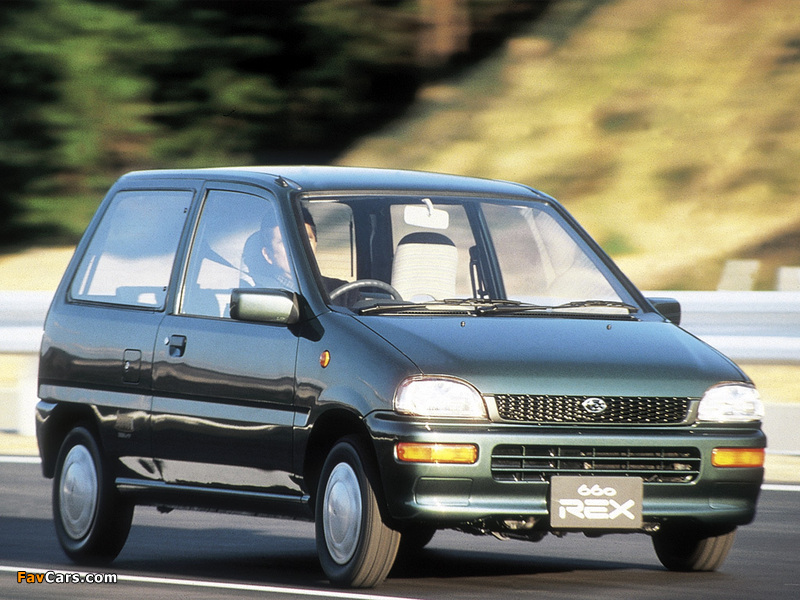 Subaru Rex Combi 1986 92 Wallpapers 800x600