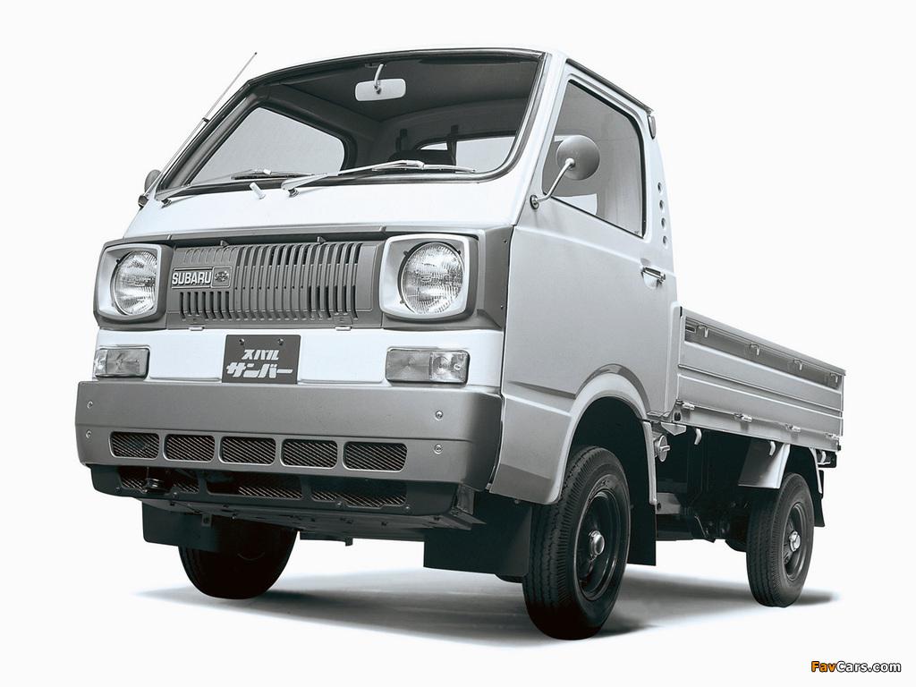 Subaru Sambar 360 Truck 1973–77 pictures (1024 x 768)