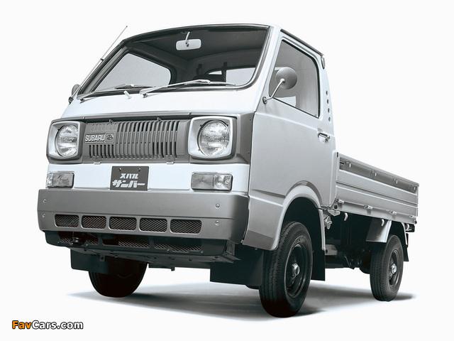 Subaru Sambar 360 Truck 1973–77 pictures (640 x 480)