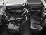 Pictures of Subaru Trezia EU-spec 2011