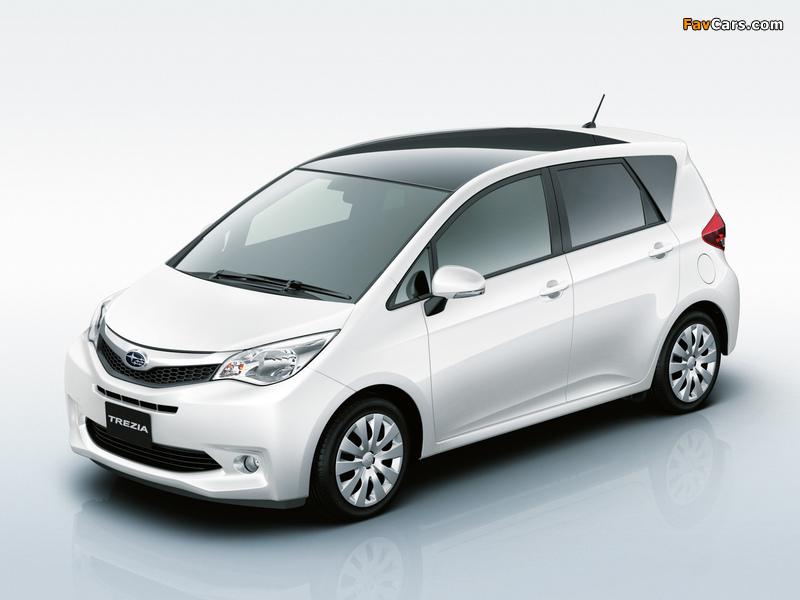 Subaru Trezia i-L 2010 images (800 x 600)