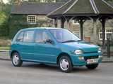 Subaru Vivio 5-door UK-spec 1992–98 images