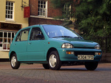 Subaru Vivio 5-door UK-spec 1992–98 photos