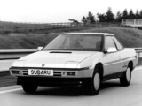 Subaru XT UK-spec 1985–91 pictures