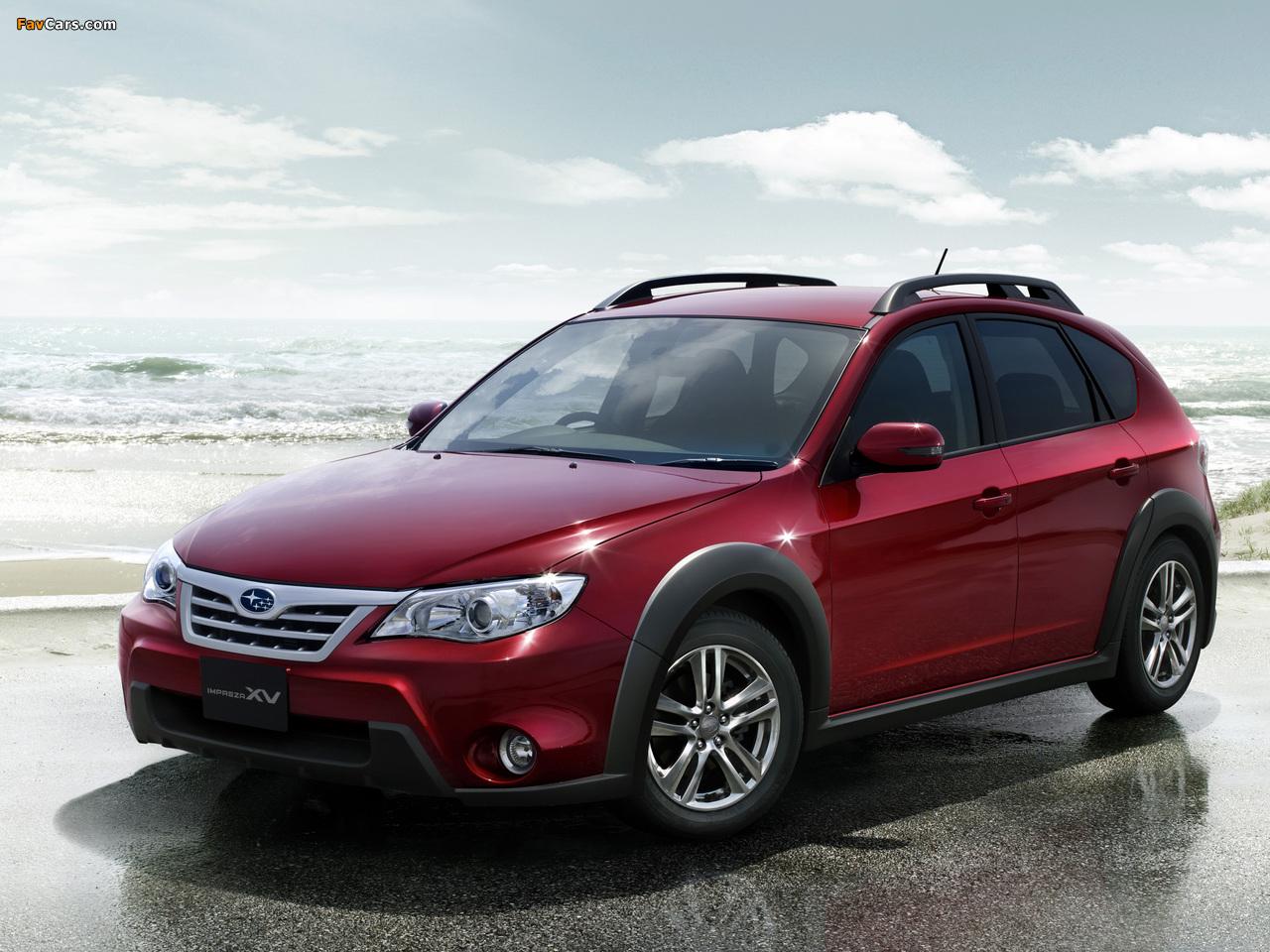 Images of Subaru Impreza XV JP-spec (GH) 2010–11 (1280 x 960)
