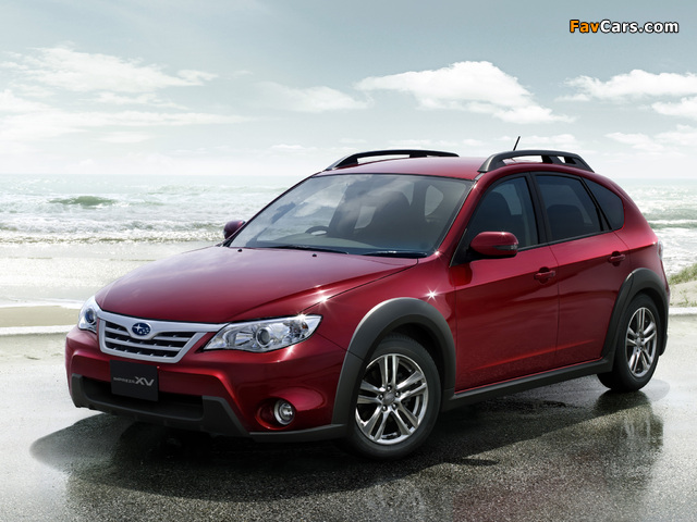 Images of Subaru Impreza XV JP-spec (GH) 2010–11 (640 x 480)