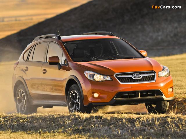 Images of Subaru XV Crosstrek 2012 (640 x 480)
