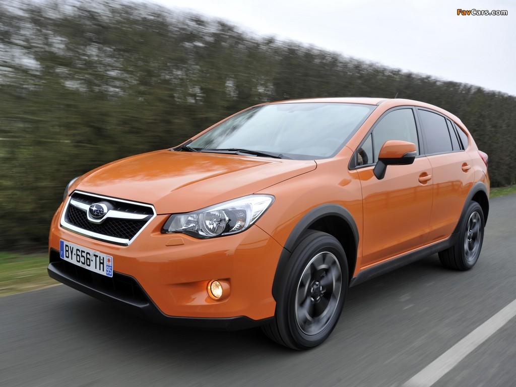 Photos of Subaru XV 2011 (1024 x 768)