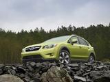 Photos of Subaru XV Crosstrek Hybrid 2013