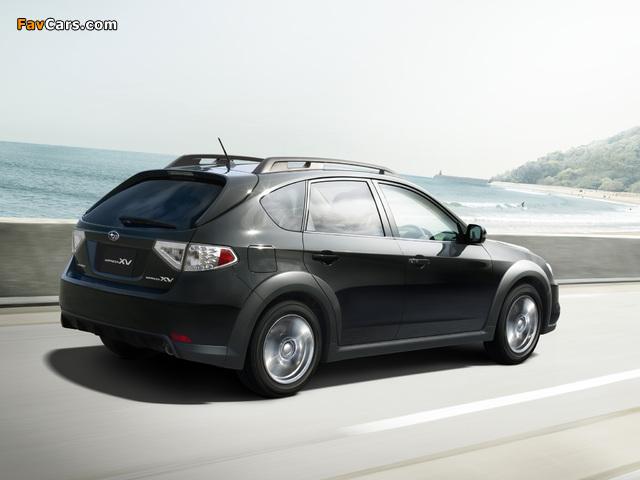 Pictures of Subaru Impreza XV JP-spec (GH) 2010–11 (640 x 480)