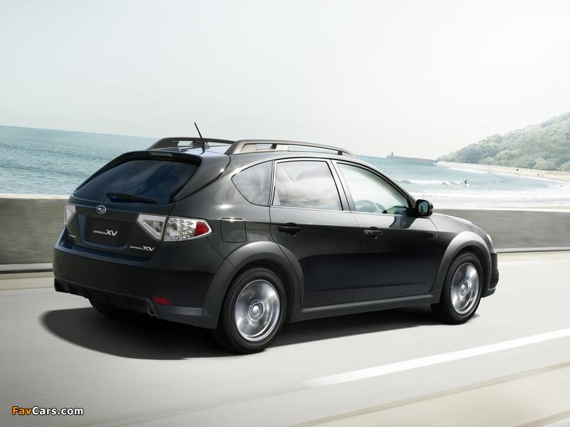 Pictures of Subaru Impreza XV JP-spec (GH) 2010–11 (800 x 600)