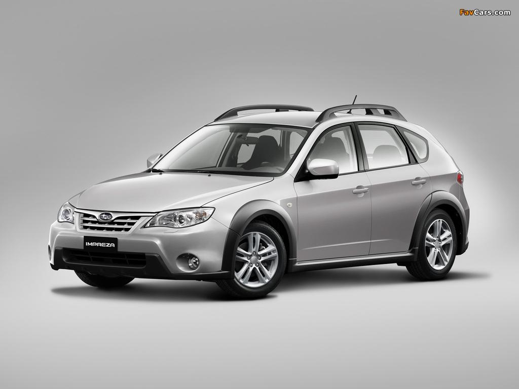 Subaru Impreza XV 2.0X 2010–11 pictures (1024 x 768)