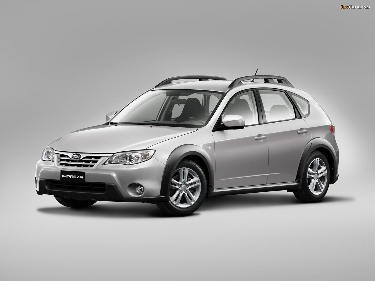 Subaru Impreza XV 2.0X 2010–11 pictures (1280 x 960)