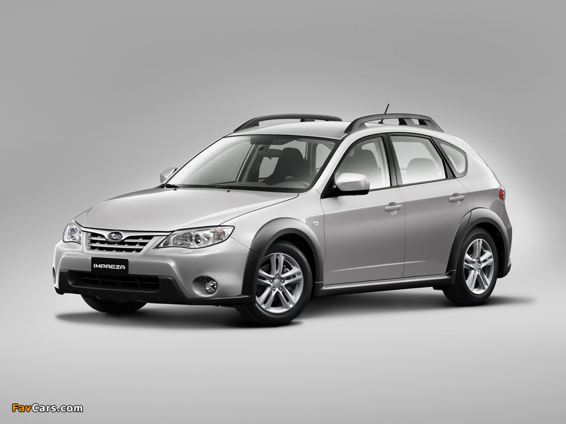 Subaru Impreza XV 2.0X 2010–11 pictures (800 x 600)