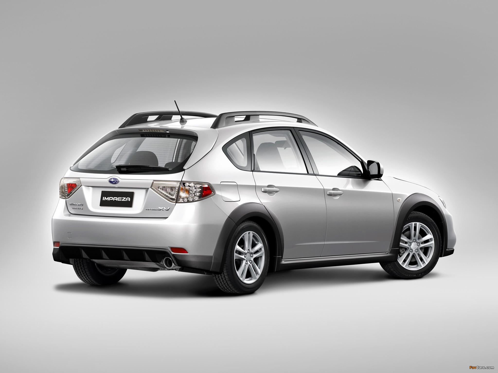 Subaru Impreza XV 2.0X 2010–11 wallpapers (2048 x 1536)