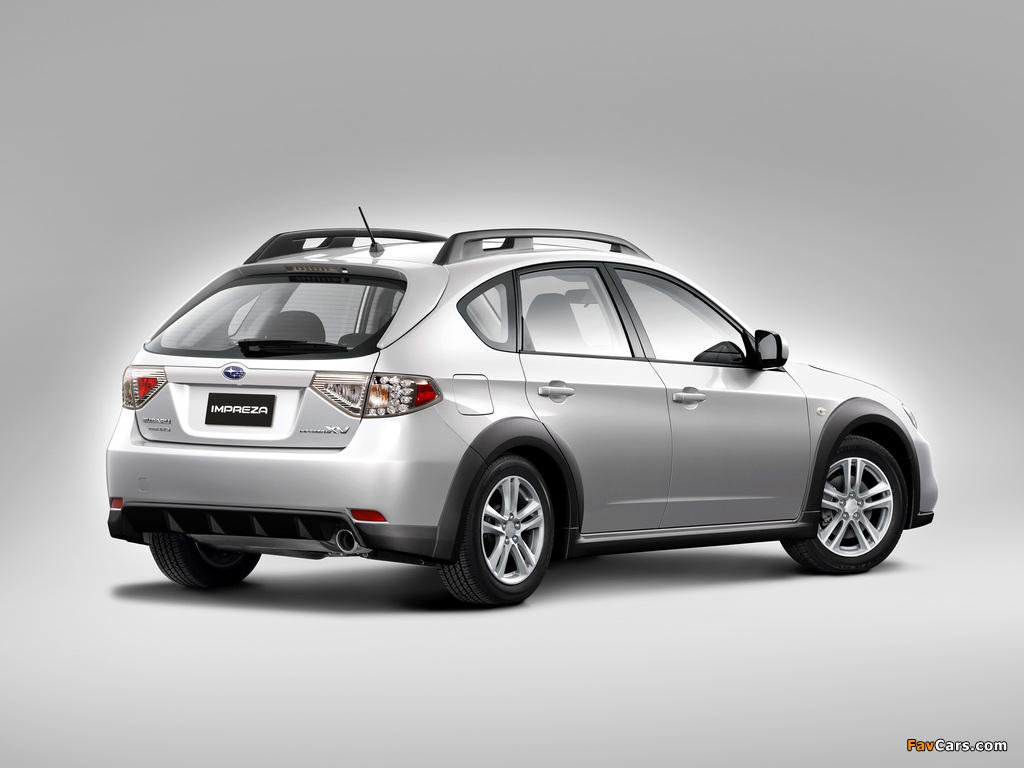 Subaru Impreza XV 2.0X 2010–11 wallpapers (1024 x 768)