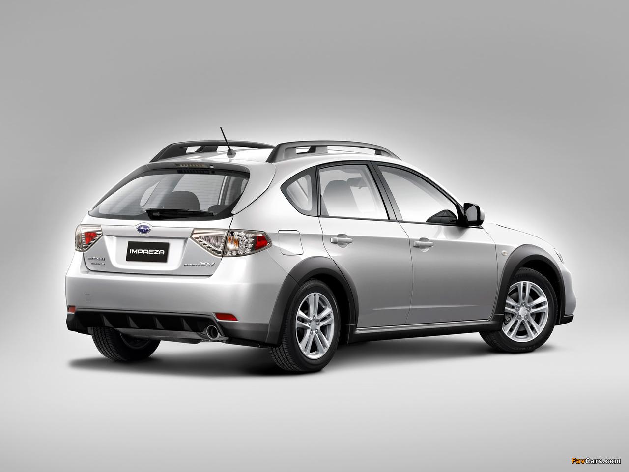 Subaru Impreza XV 2.0X 2010–11 wallpapers (1280 x 960)