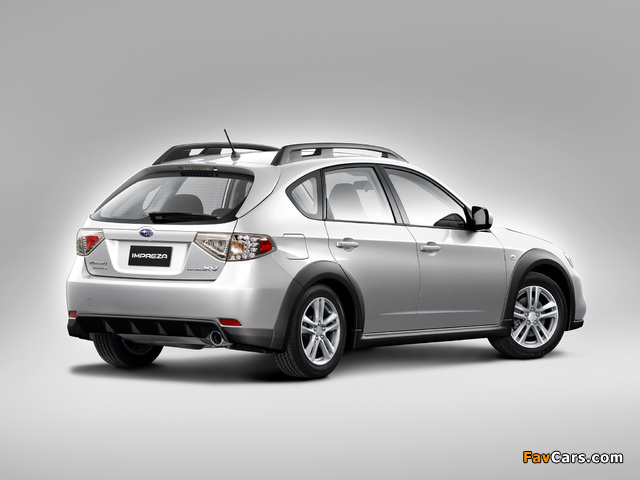 Subaru Impreza XV 2.0X 2010–11 wallpapers (640 x 480)