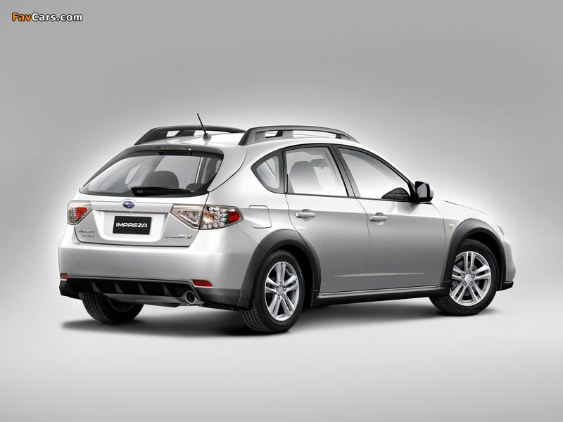 Subaru Impreza XV 2.0X 2010–11 wallpapers (800 x 600)