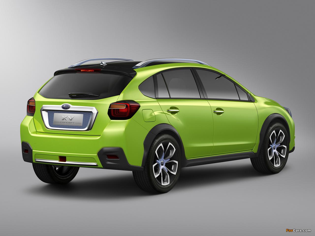 Subaru XV Concept 2011 photos (1280 x 960)