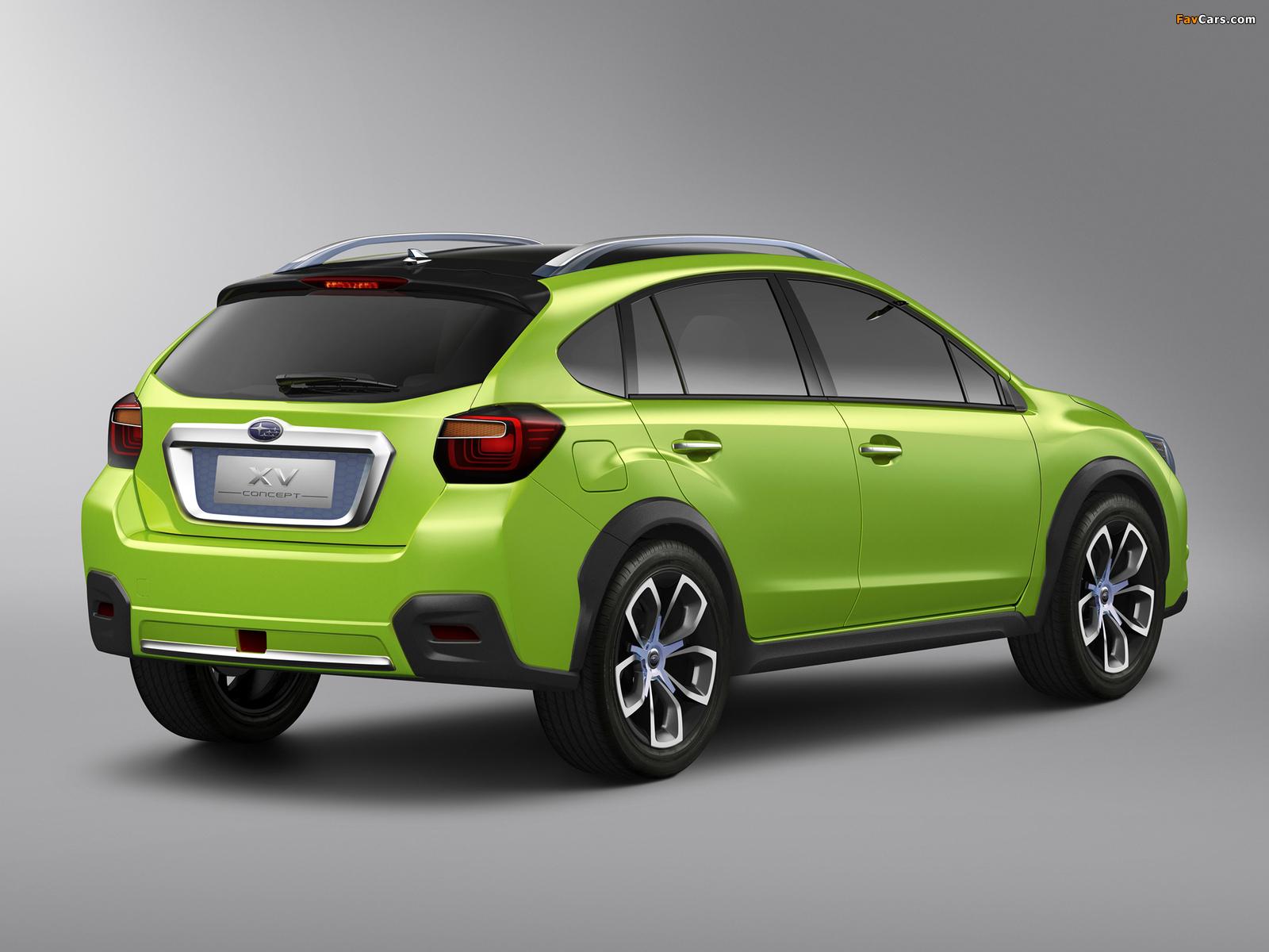 Subaru XV Concept 2011 photos (1600 x 1200)
