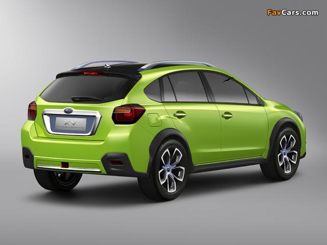 Subaru XV Concept 2011 photos (640 x 480)