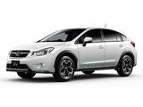 Subaru XV JP-spec 2012 images