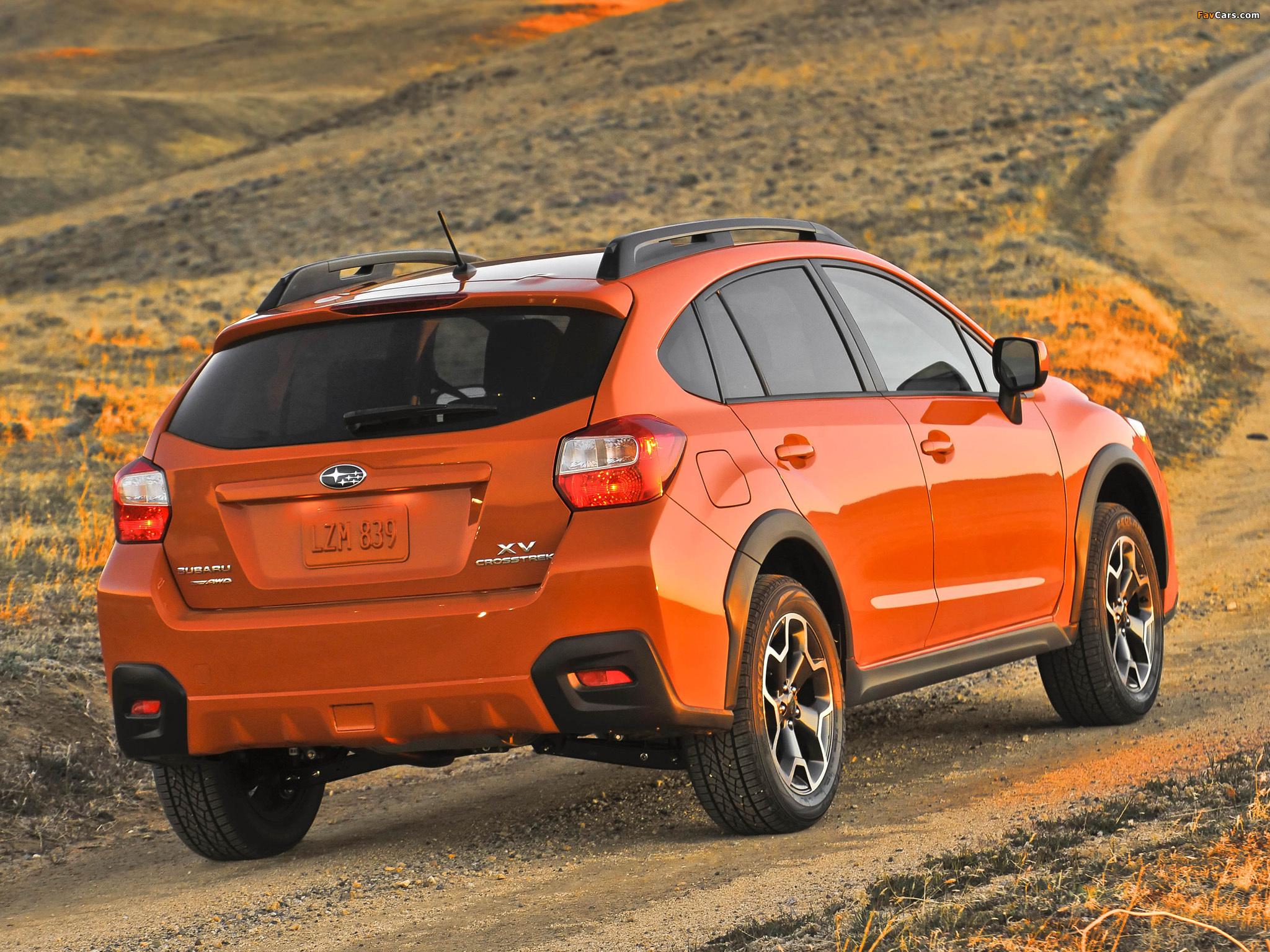 Subaru XV Crosstrek 2012 photos (2048 x 1536)