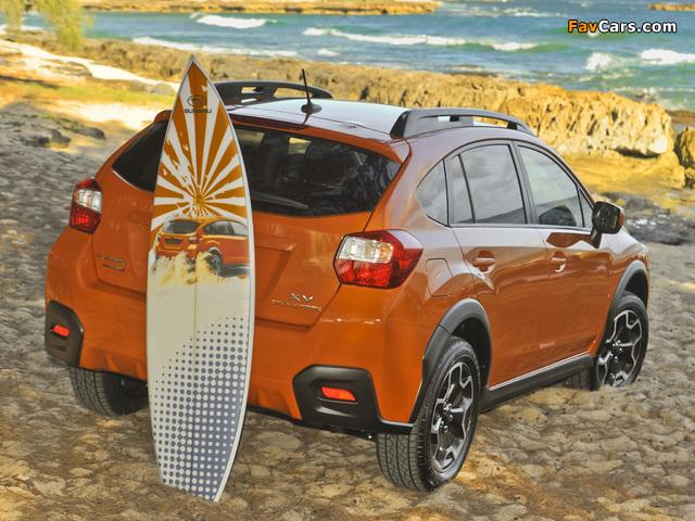 Subaru XV Crosstrek 2012 wallpapers (640 x 480)