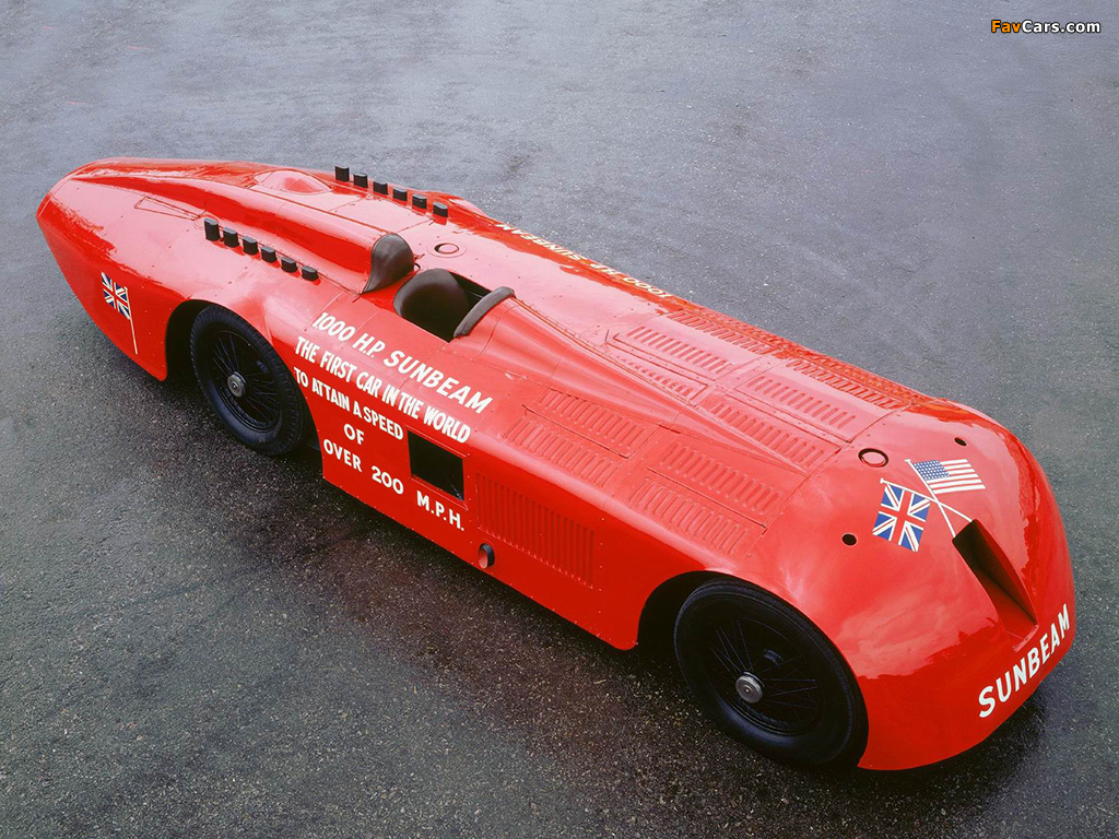 Sunbeam 1000 HP Land Speed Record Car 1927 images (1024 x 768)