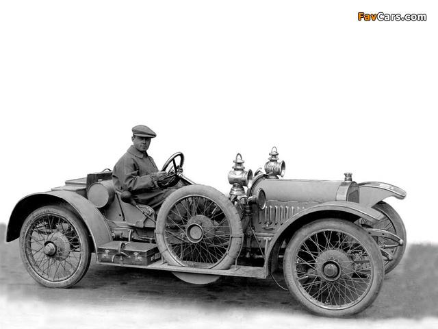 Sunbeam 12/16 HP Race Car 1910 photos (640 x 480)