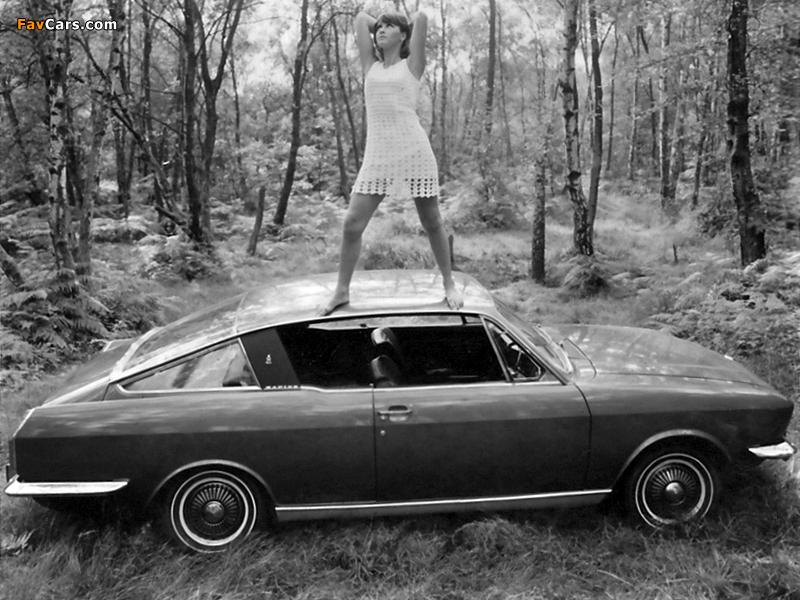 Sunbeam Rapier H120 Fastback oupe 1967–76 wallpapers (800 x 600)