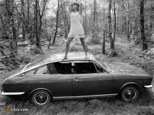 Sunbeam Rapier H120 Fastback oupe 1967–76 wallpapers (640 x 480)