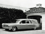Cadillac Funeral Car by Superior (6890) 1963 wallpapers