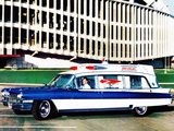 Cadillac Rescuer Ambulance by Superior (6890) 1963 wallpapers