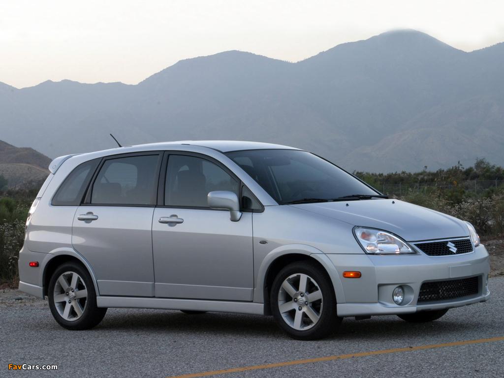 Suzuki Aerio Back