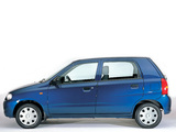 Photos of Suzuki Alto 5-door 1998–2004