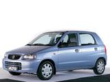 Photos of Suzuki Alto 5-door 1998–2004