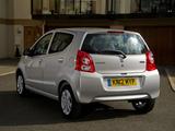 Suzuki Alto UK-spec 2008–14 photos
