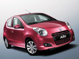 Suzuki Alto 2008–14 wallpapers